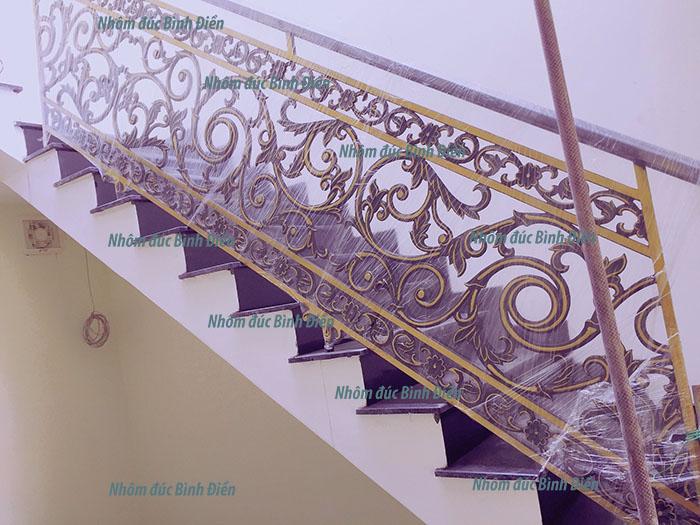 Cầu thang hợp kim nhôm đúc BS-005