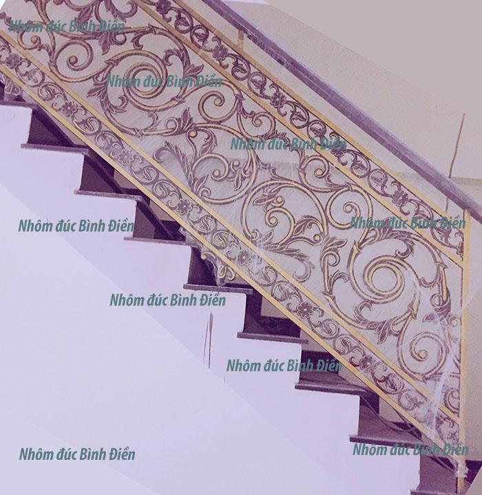 Cầu thang nhôm đúc BS-005