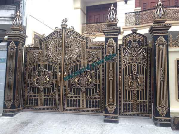 Cửa cổng hợp kim nhôm BG-017
