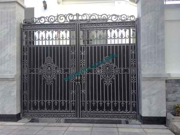 Cửa cổng hợp kim nhôm BG-027