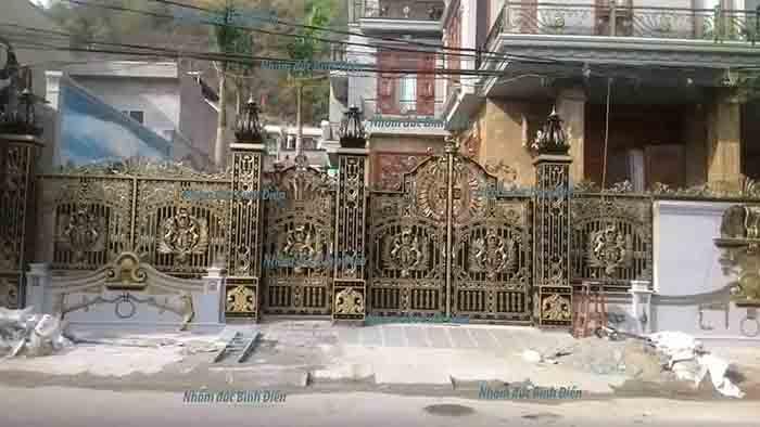 Cổng rào nhôm đúc Vũng Tàu