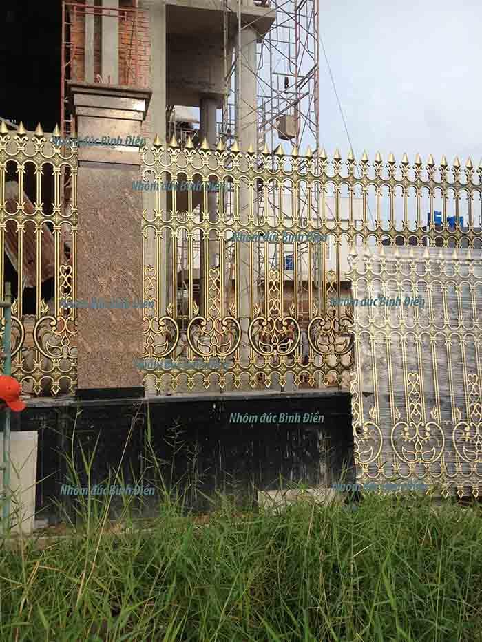 Hàng rào hợp kim nhôm Rạch Giá - Kiên Giang