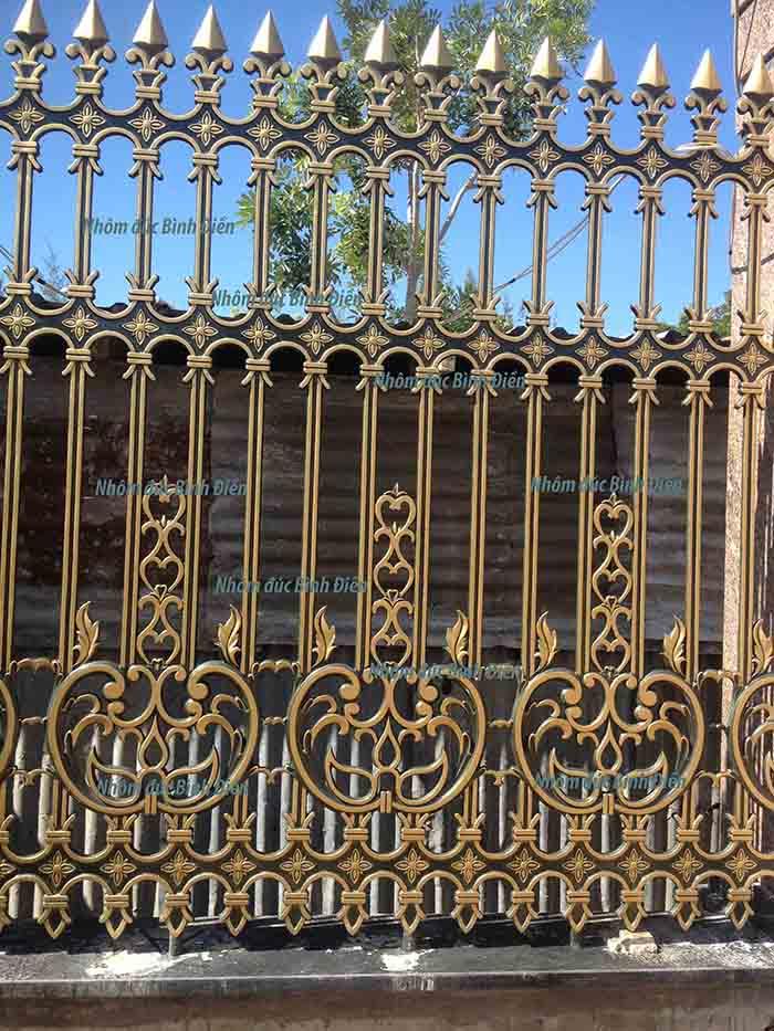 Hàng rào nhôm đúc Rạch Giá - Kiên Giang